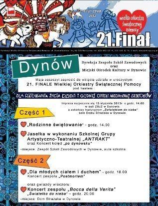 WOŚP w Dynowie zagrała po raz pierwszy - Aktualności Rzeszów