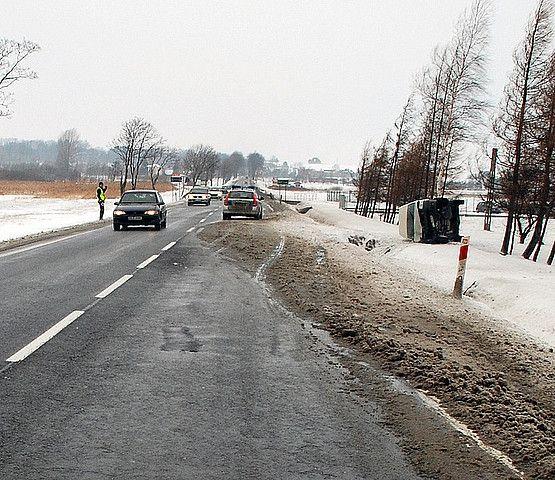 Pasażerowie ranni w wypadku busa - Aktualności Podkarpacie