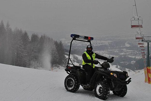 Policjanci dbają o bezpieczeństwo w górach i na stokach - Aktualności Podkarpacie