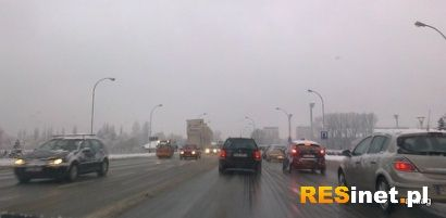 Nocne opady śniegu. Ślisko na drogach Podkarpacia  - Aktualności Podkarpacie