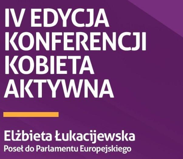 """Danuta Wałęsa na konferencji """"Kobiet Aktywnych"""" - Aktualności Rzeszów"""