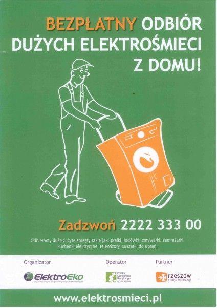 Zbiórka elektrośmieci - Aktualności Rzeszów