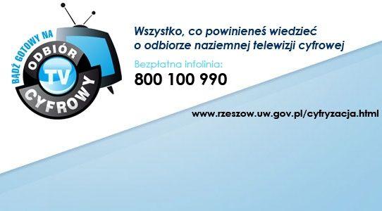 Infolinia dotycząca cyfryzacji telewizji  - Aktualności Podkarpacie