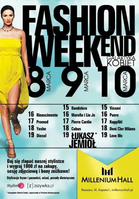 Najnowsze kolekcje znanych marek podczas Fashion Weekend - Aktualności Rzeszów