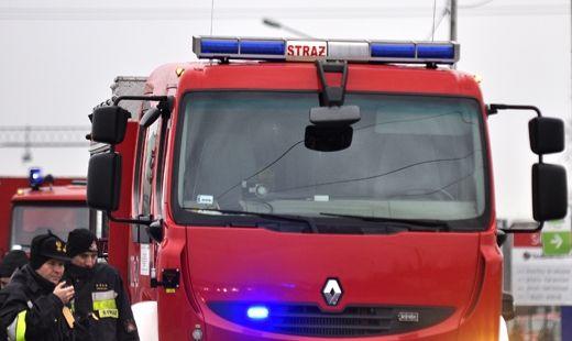 Pożar budynku Caritasu w Ropczycach - Aktualności Podkarpacie