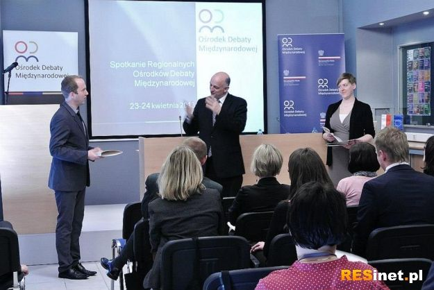 W Rzeszowie powstał Regionalny Ośrodek Debaty Międzynarodowej - Aktualności Rzeszów