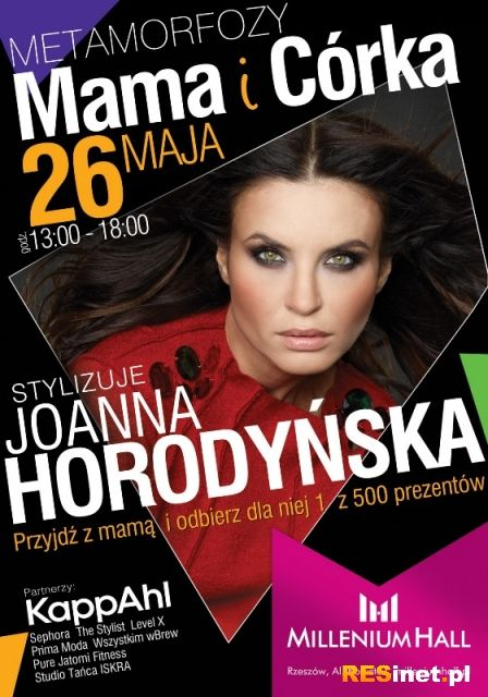 Metamorfozy z Joanną Horodyńską w Dniu Matki - Aktualności Rzeszów