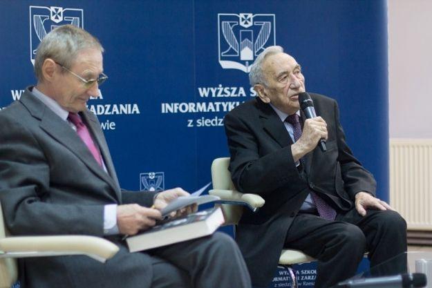 Tadeusz Mazowiecki gościł w WSIiZ - Aktualności Rzeszów