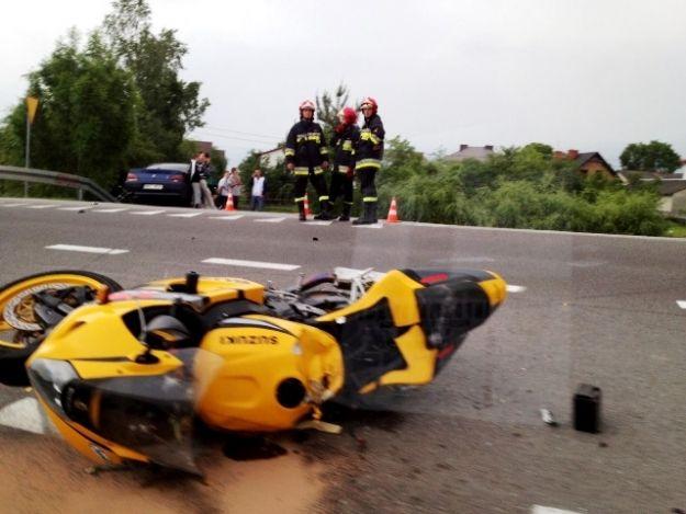 W Kupnie zginął motocyklista - Aktualności Podkarpacie