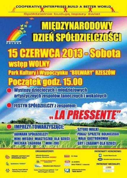 Festyn spółdzielczy na Bulwarach - Aktualności Rzeszów
