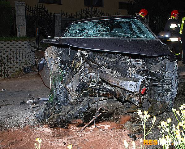 1 osoba zginęłą w wypadku w Jareniówce - Aktualności Podkarpacie