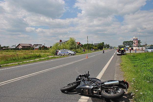 Motocyklista ranny w wypadku w Kolbuszowej - Aktualności Podkarpacie