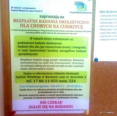 Bezpłatne badania dla mieszkańców Rzeszowa - Aktualności Rzeszów