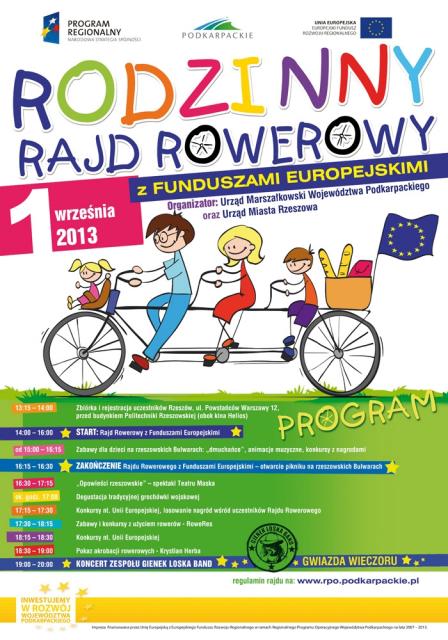 Rodzinny Rajd Rowerowy  - Aktualności Rzeszów