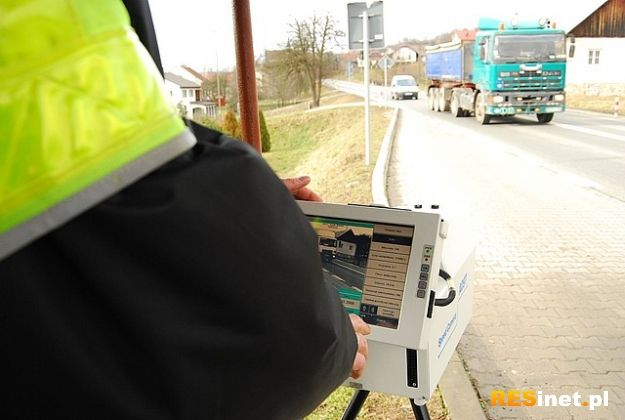 Policja kontroluje ciężarówki - Aktualności Podkarpacie