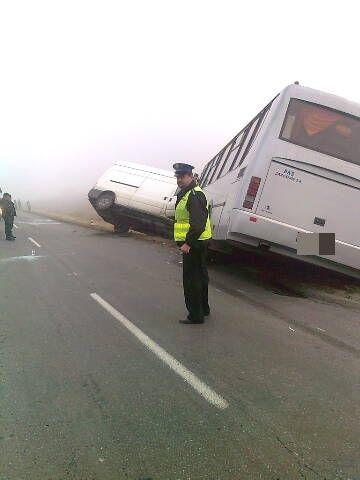 Zderzenie busa ze szkolnym autobusem. 5 dzieci rannych - Aktualności Podkarpacie