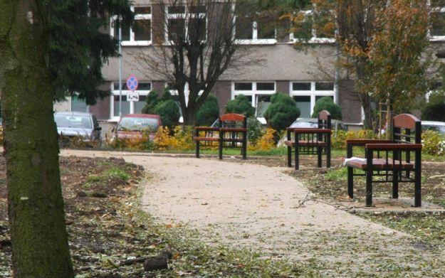 Kolejny park odnawiany - Aktualności Rzeszów