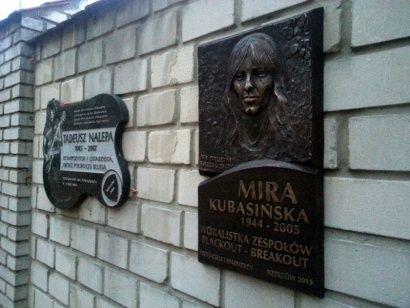 Tablica pamięci Miry Kubasińskiej w Rzeszowie  - Aktualności Rzeszów