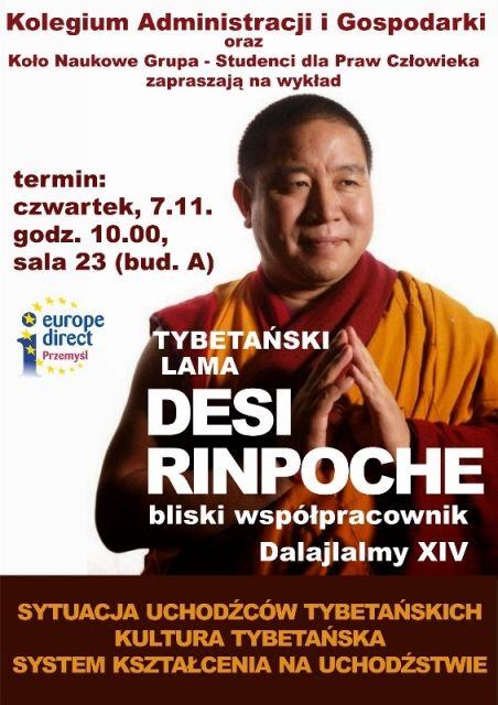 Tybetański lama z wizytą w Rzeszowie - Aktualności Rzeszów
