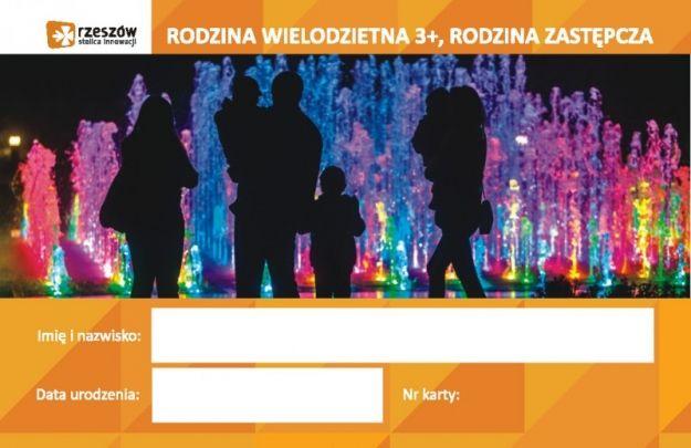 """W Rzeszowie działa program """"Rodzina Wielodzietna 3+..."""" - Aktualności Rzeszów"""