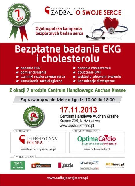 """17 listopada """"Zadbaj o swoje serce"""" - Aktualności Rzeszów"""