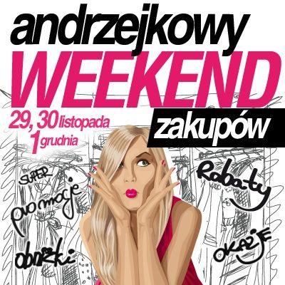 Andrzejkowy weekend zakupów - Aktualności Rzeszów