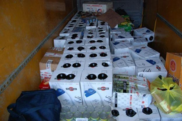 Zatrzymano 300 butelek wina - Aktualności Podkarpacie
