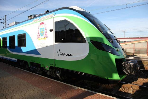 Nowoczesny pociąg na trasie Rzeszów - Przemyśl - Aktualności Rzeszów