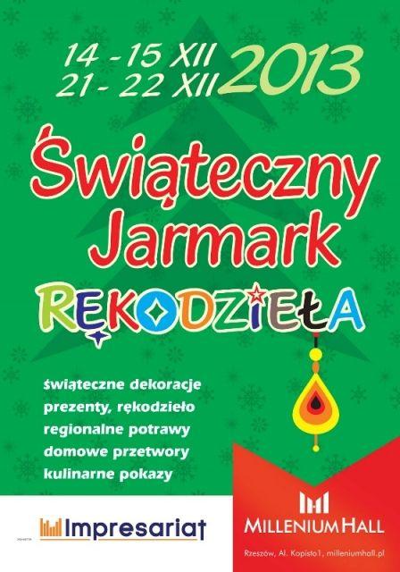 Świąteczny Jarmark Rękodzieła w Millenium Hall - Aktualności Rzeszów