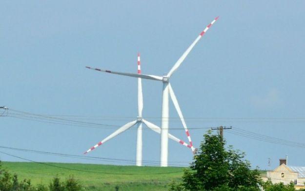 Kolejna awaria wiatraka w Rymanowie  - Aktualności Podkarpacie