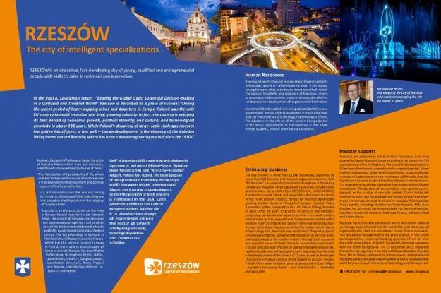 Stolica Innowacji na Światowym Forum Ekonomicznym w Davos - Aktualności Rzeszów