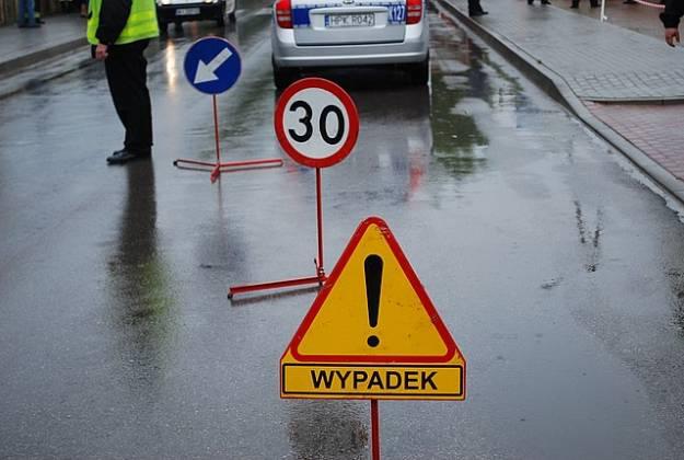 Wypadek drogowy w Dębicy - Aktualności Podkarpacie