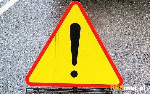 Zablokowana droga krajowa 77 w Zbydniowie - Aktualności Podkarpacie