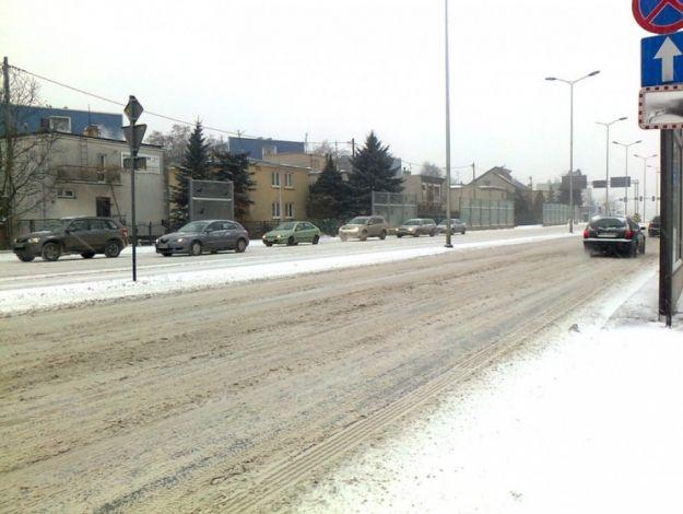 Trudne warunki na drogach Podkarpacia  - Aktualności Podkarpacie
