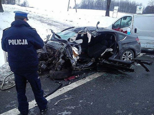 Wypadek drogowy w miejscowości Machowa - Aktualności Podkarpacie