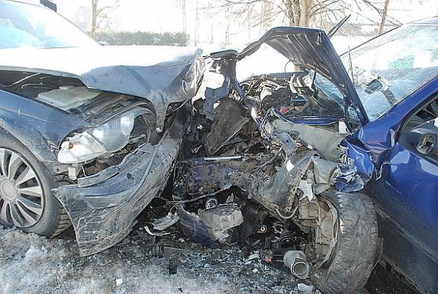 Wypadek drogowy w Średniej Wsi - Aktualności Podkarpacie