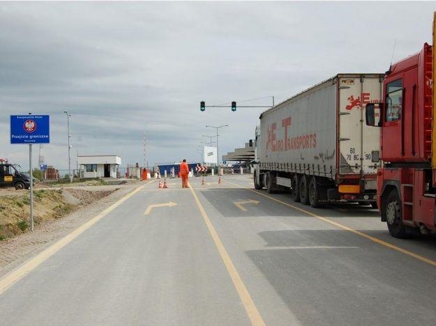 Blokada przejścia granicznego w Korczowej - Aktualności Podkarpacie