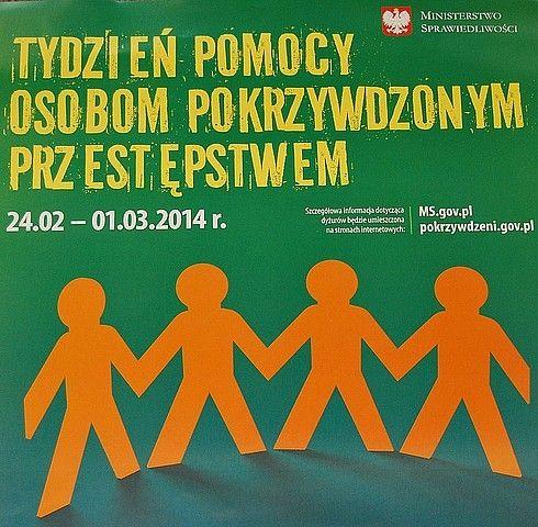 Tydzień Pomocy Osobom Pokrzywdzonym Przestępstwem - Aktualności Rzeszów