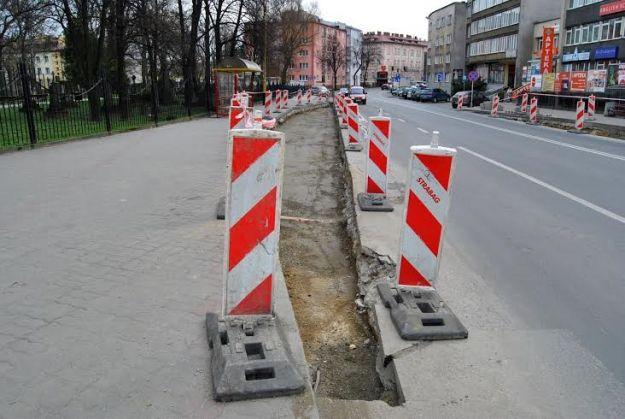 Trwa modernizacja ul. Targowej - Aktualności Rzeszów