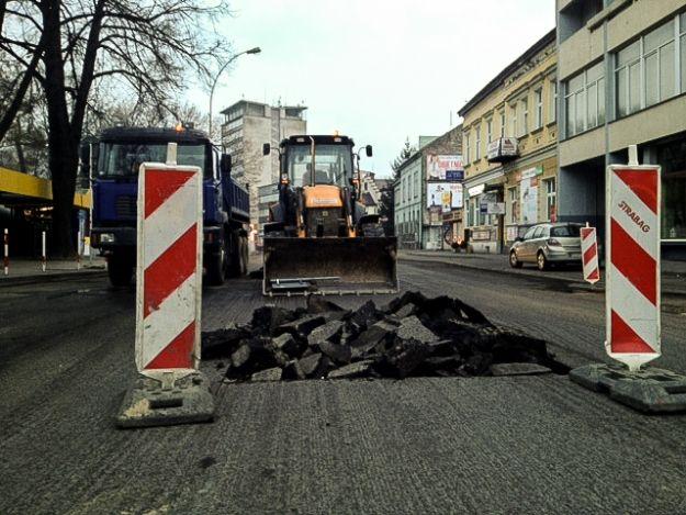 Uwaga kierowcy! Trwa remont ul. Naruszewicza - Aktualności Rzeszów