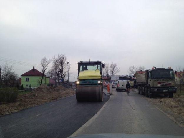 (FOTO) Trwa remont ul. Strażackiej - Aktualności Rzeszów