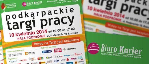 Jutro Podkarpackie Targi Pracy 2014  - Aktualności Rzeszów