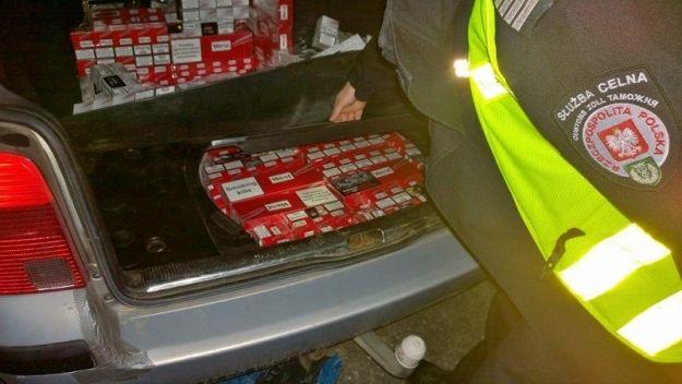6 tys. paczek papierosów z przemytu - Aktualności Podkarpacie