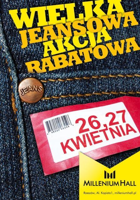 Wielka Jeansowa Akcja Rabatowa - art. sposn.