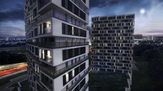 To będą najwyższe budynki na Podkarpaciu. Powstanie ponad 300 mieszkań i Park Tematyczny  - Aktualności Rzeszów - zdj. 1