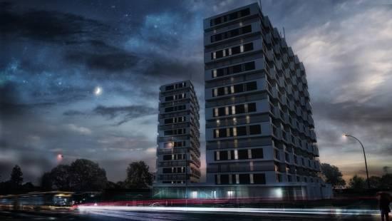 To będą najwyższe budynki na Podkarpaciu. Powstanie ponad 300 mieszkań i Park Tematyczny  - Aktualności Rzeszów - zdj. 3