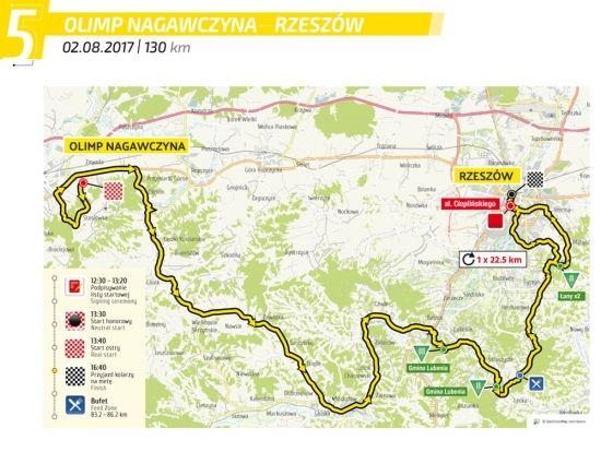 Dziś V etap Tour de Pologne ulicami Rzeszowa. Ogromne utrudnienia [MAPKA] - Aktualności Rzeszów - zdj. 1