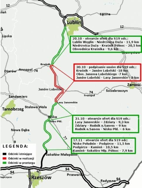 Budowa Via Carpatii coraz bliżej. Otwarto oferty na S19 od Niska do Sokołowa Młp. - Aktualności Podkarpacie - zdj. 1