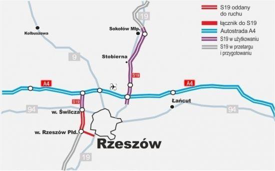 7 grudnia zostanie włączony do ruchu odcinek S19 węzeł Świlcza – Rzeszów Południe - Aktualności Rzeszów - zdj. 1