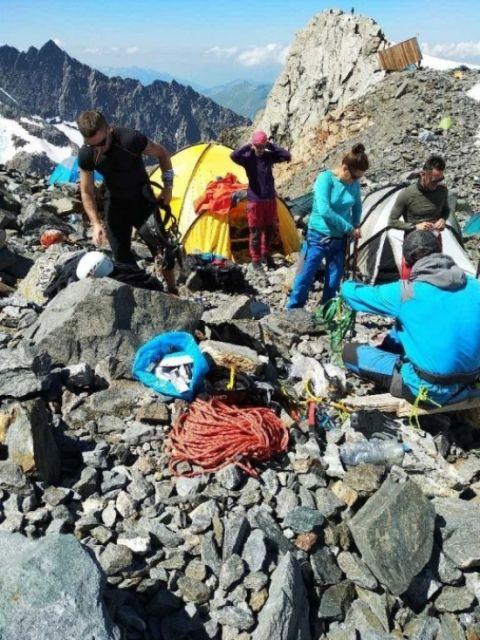 Pracownik Uniwersytetu Rzeszowskiego zdobył Mont Blanc. Wyczynu dokonał dr hab. Sławomir Drozd [ZDJĘCIA] - Aktualności Rzeszów - zdj. 4
